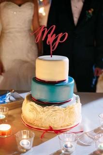 Cake Topper - Inicjały
