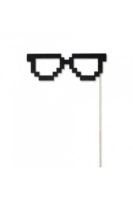 Drewniane okulary - PIKSEL