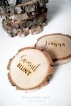 Winietka - plaster drewna
