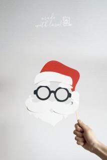 Świąteczna maska