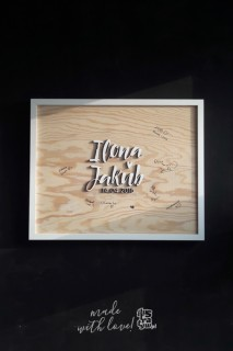 Księga gości - tablica
