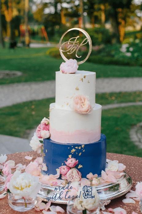 Spersonalizowany Cake Topper - inicjały