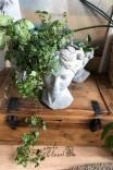 Dekoracyjna osłonka na doniczkę 'Głowa damska XL'